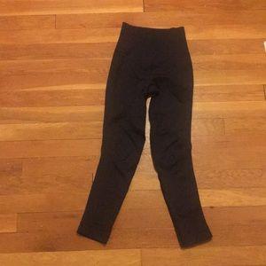 Black lululemon high-waisted leggings